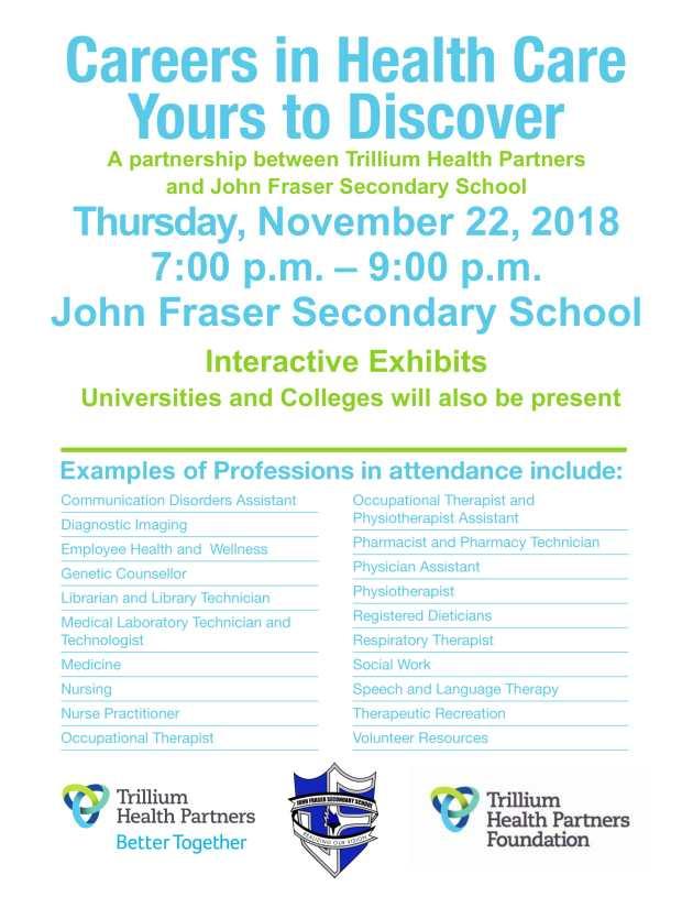 JFSS Career Night Poster 2018